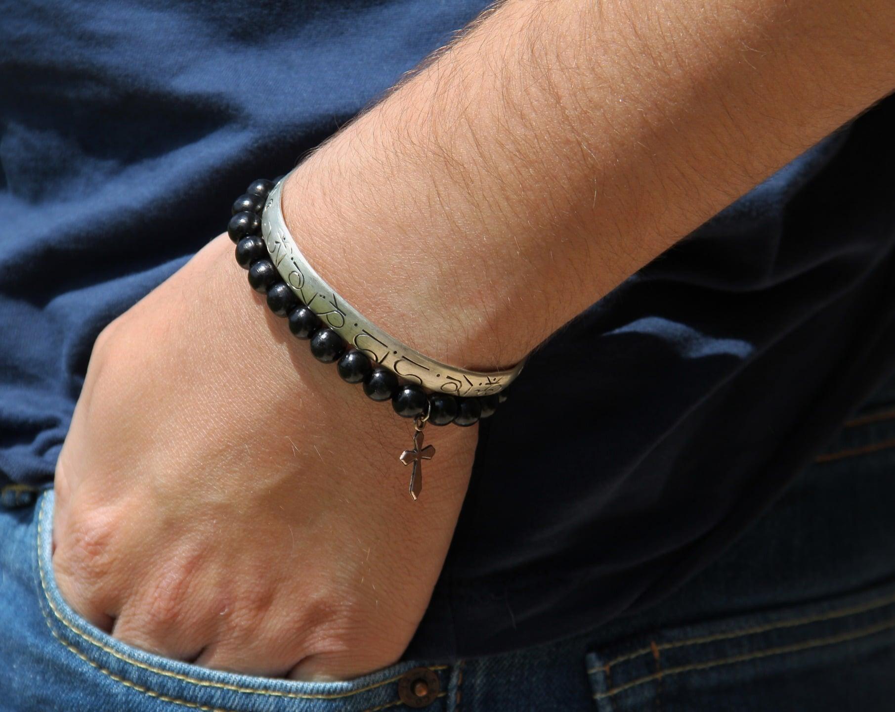 bracelet mode homme j adore le cuir v 233 ritable