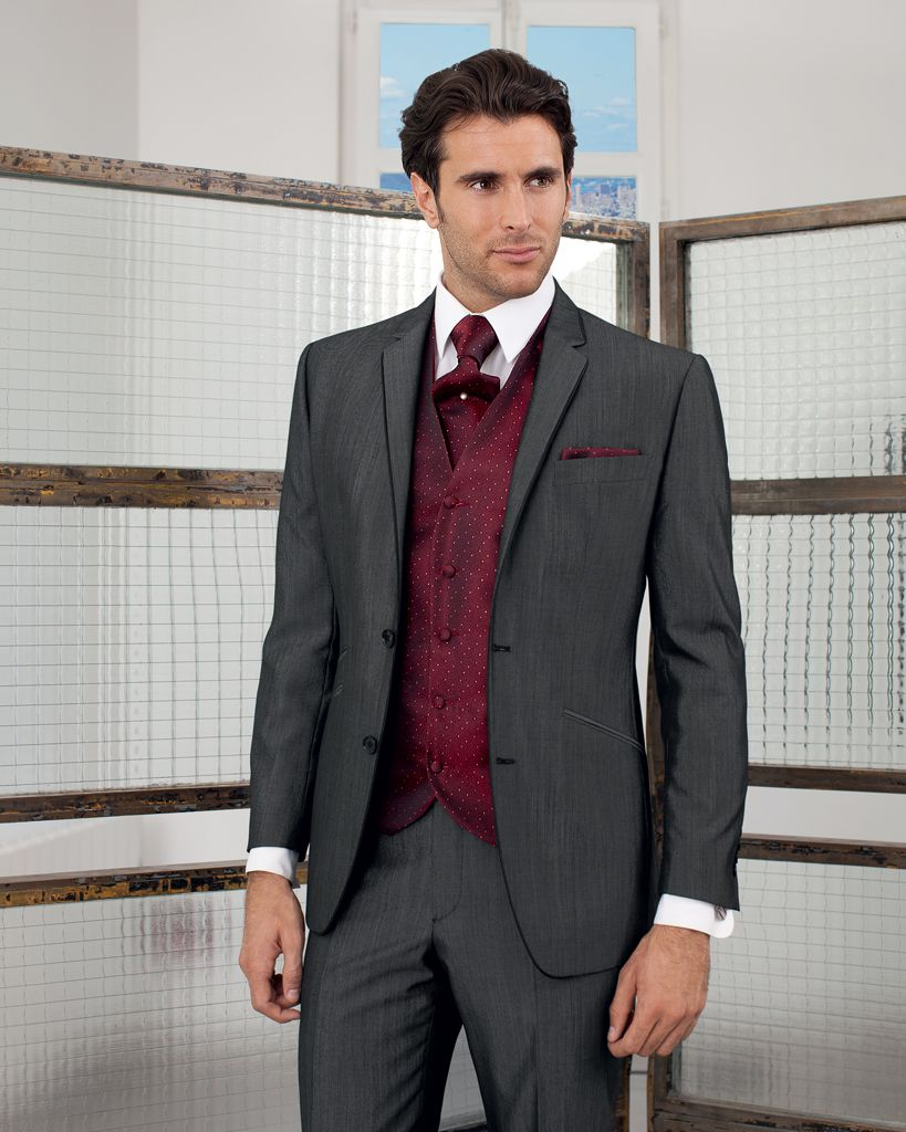 Costume gris homme mariage Costume decontracte mariage