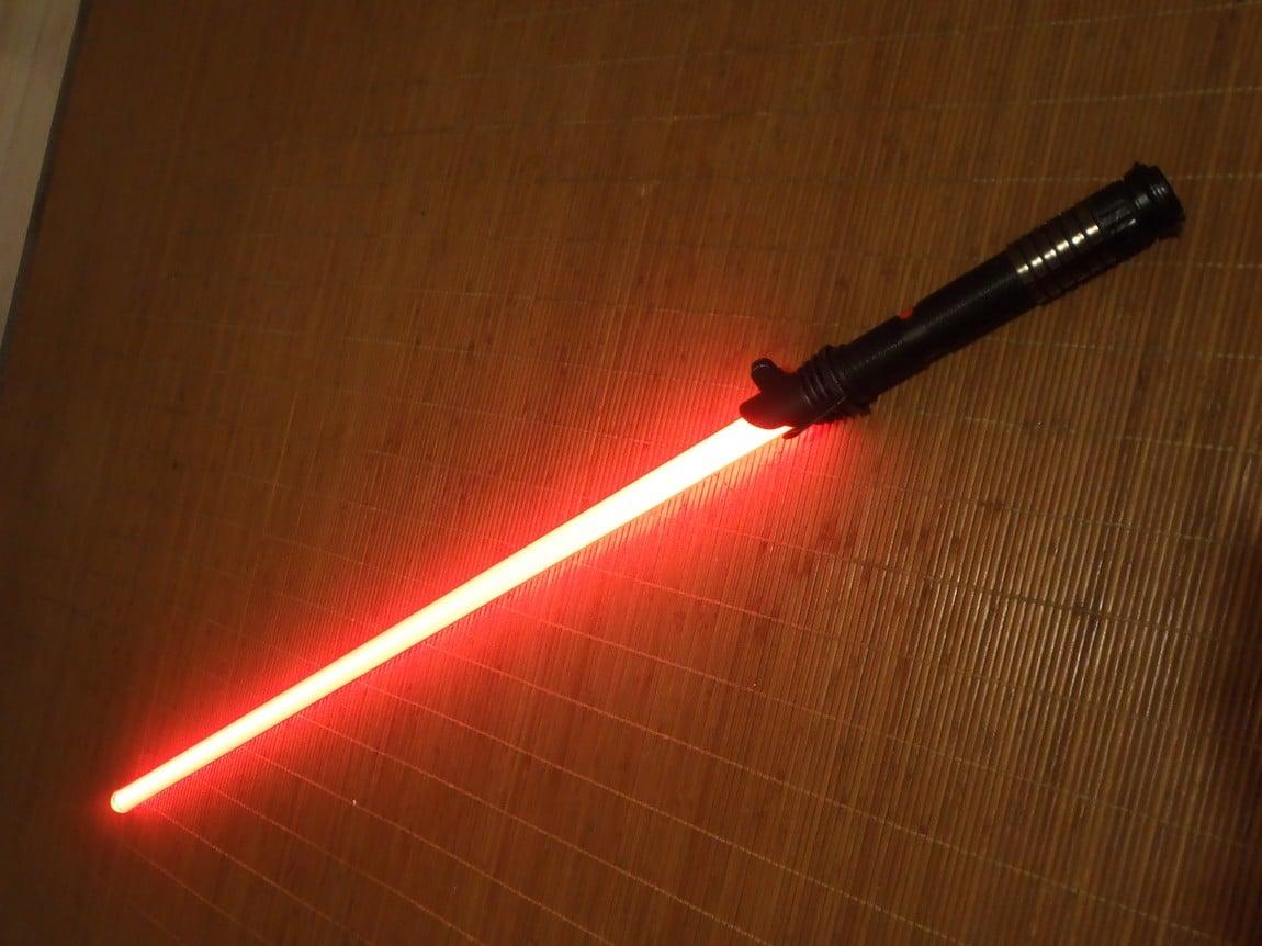 comment fabriquer un sabre laser