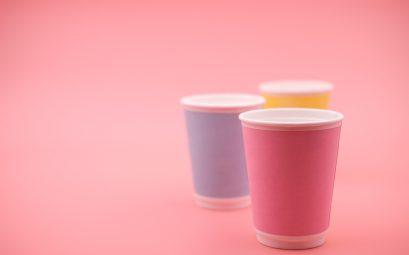 Gobelet carton café